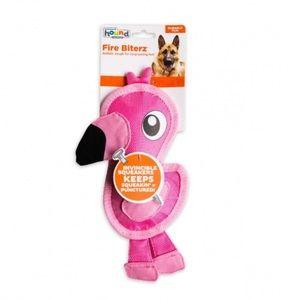 🆕 Fire Biterz Flamingo Dog Toy